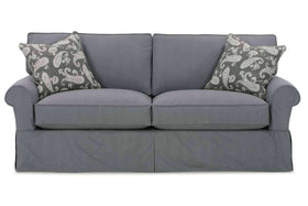 "Slipcovered Furniture Bethany ""Designer Style"" Slipcovered Queen Sleeper Sofa"