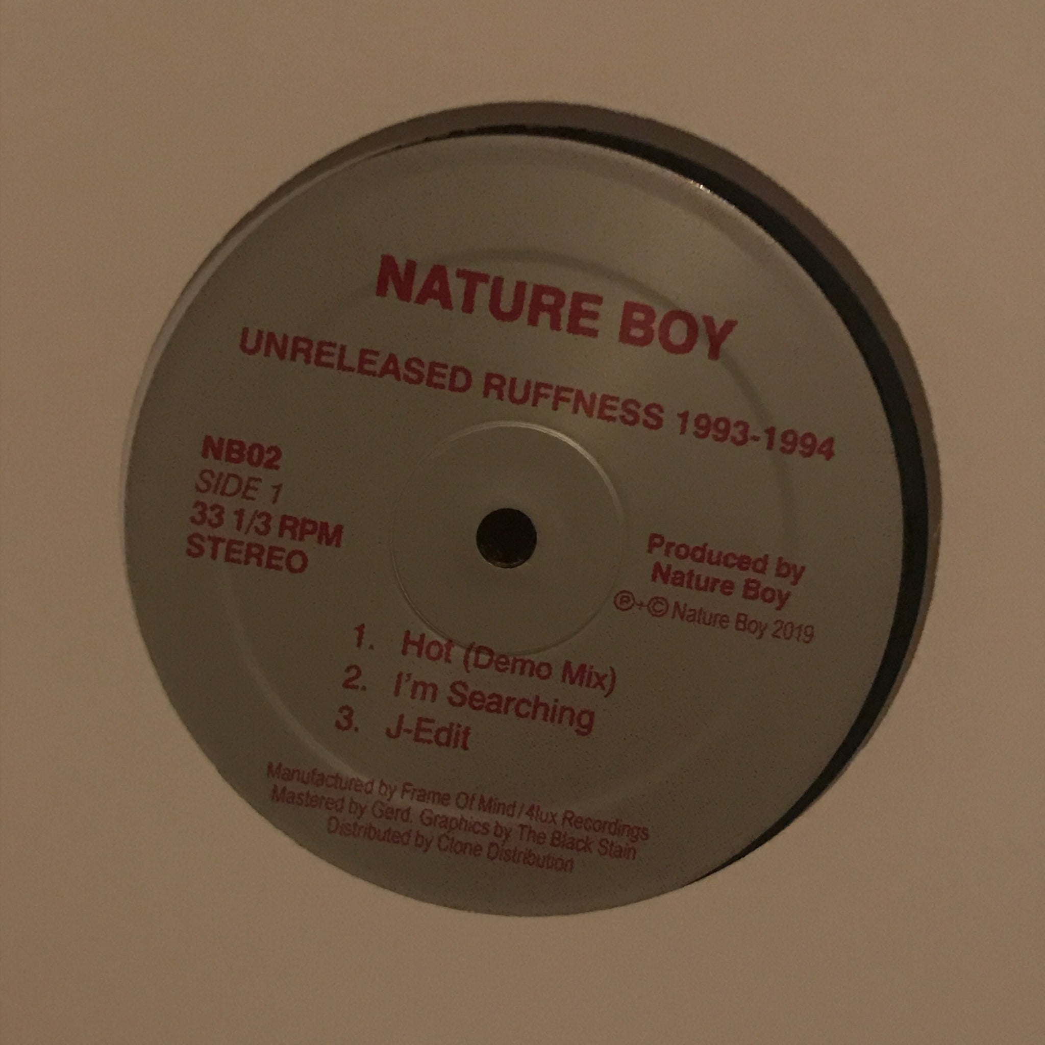 Nature Boy ‎– Unreleased Ruffness 1993-1994