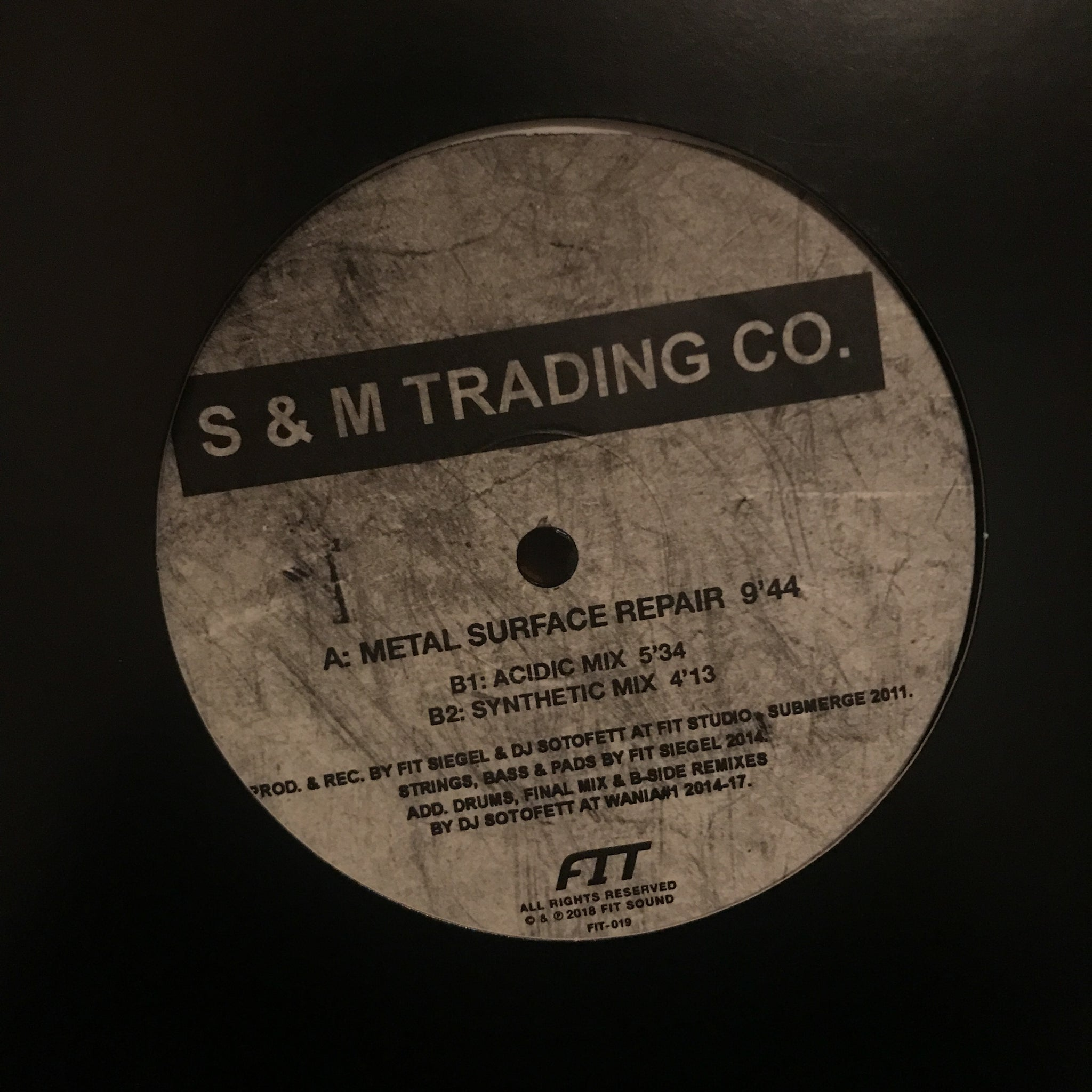 S & M Trading Co. ‎– Metal Surface Repair