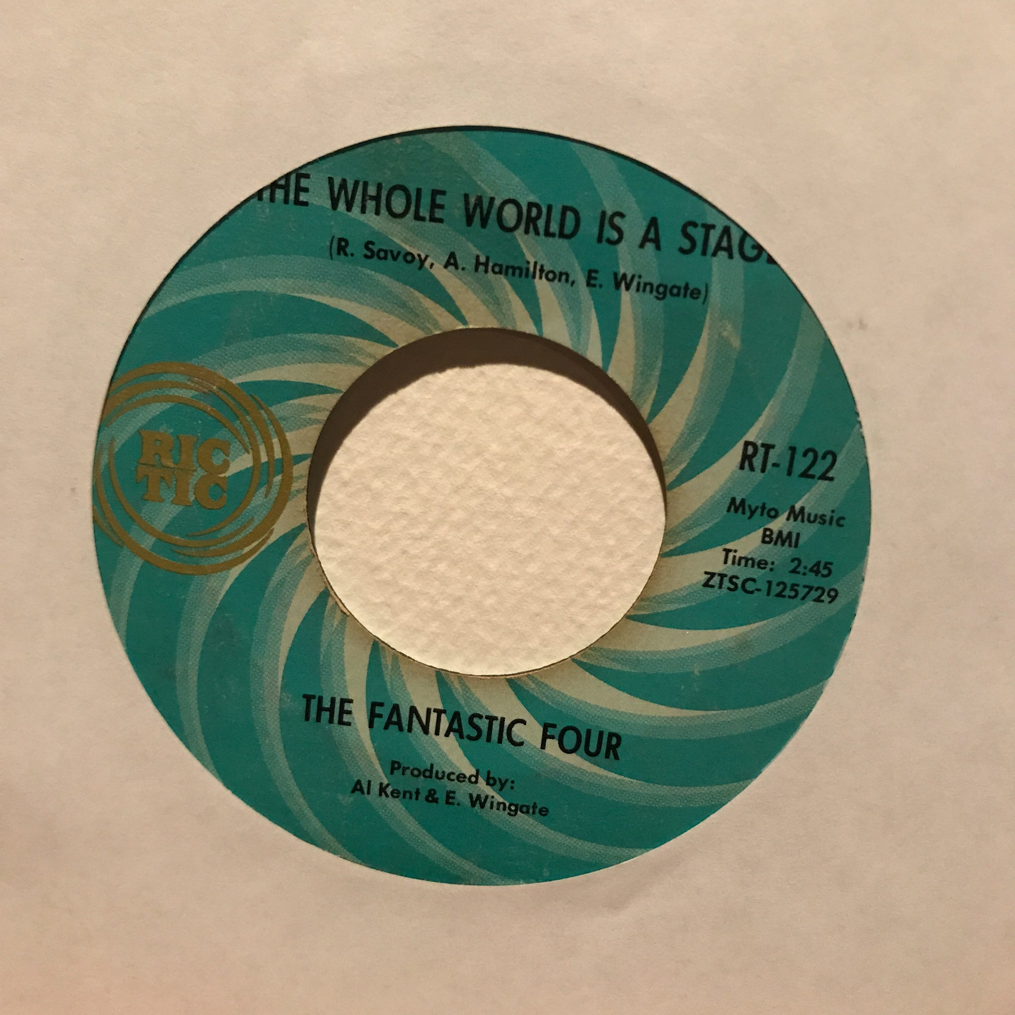 The Fantastic Four ‎– The Whole World Is A Stage / Ain't Love Wonderful