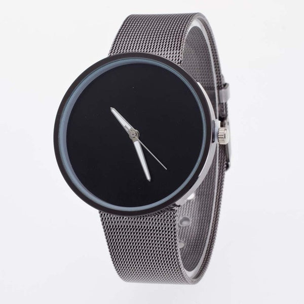Superior New Mens Womens Unisex Metal Mesh Band Fashion Quartz Wrist Watch June 25 - Necklace for Her