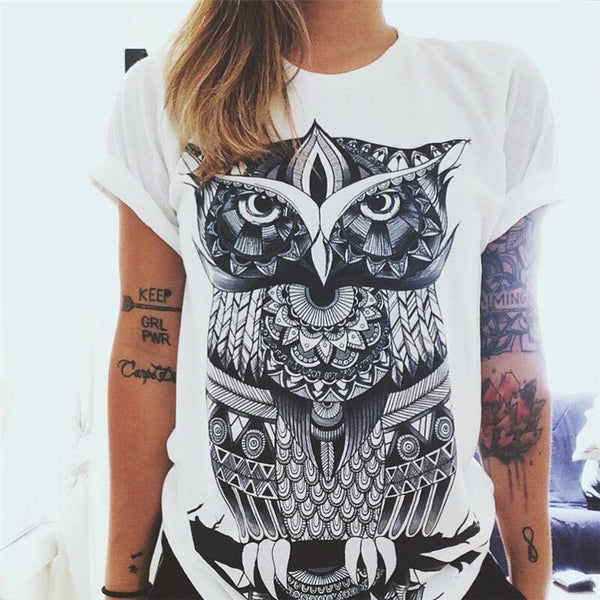 Women European Fashion T-shirt - Necklace for Her