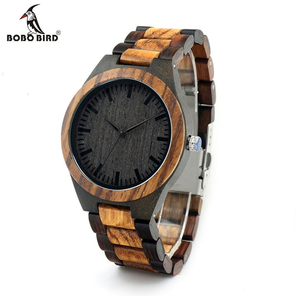 BOBO BIRD Wood Watch for Men - Necklace for Her