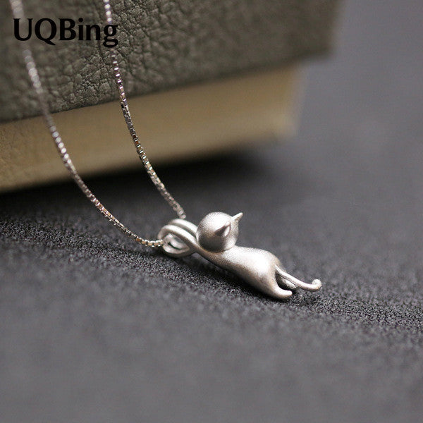 925 Sterling Silver Necklaces Cats Pendants & Necklaces for Women - 40cm-45cm length - Necklace for Her