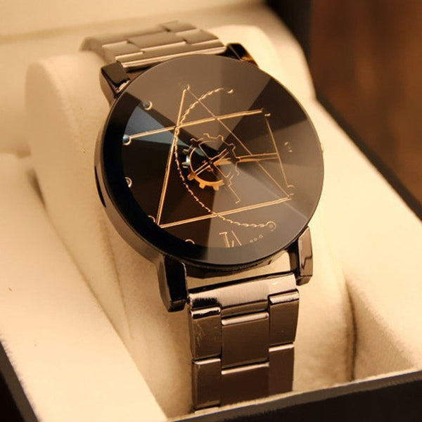 Splendid Original Brand Watch with Stainless Steel Wrist - Necklace for Her