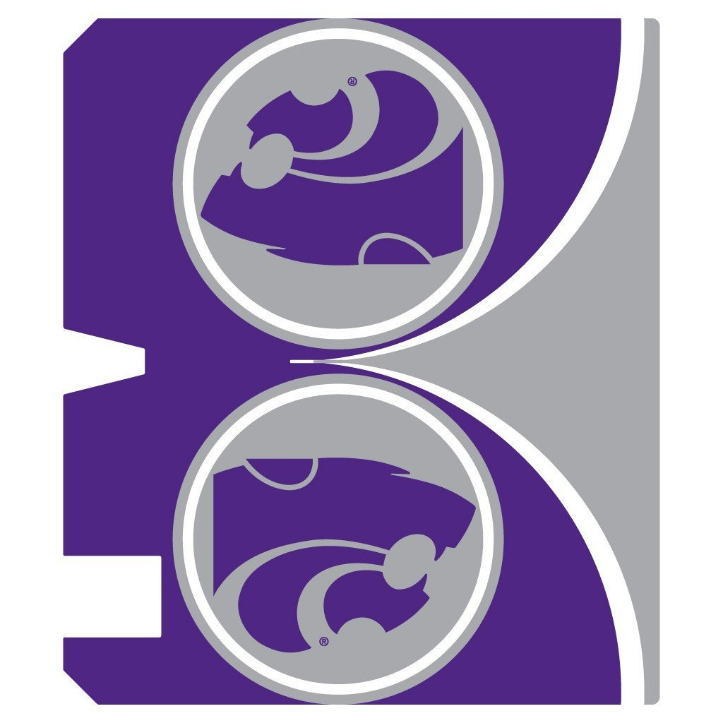 Kansas State Magnetic Mailbox Cover (Design 3)