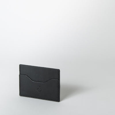 The Mayflower Card Holder, black