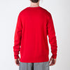 The Doctor Knitted Sweater, red