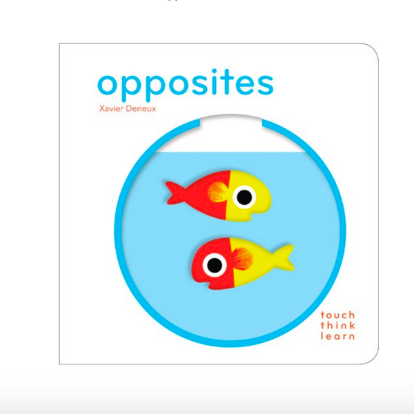 Touch Think Learn Opposites Book