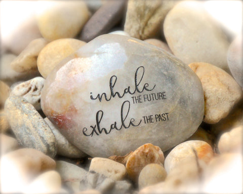 Inhale_the_future_exhale_the_past_engraved_rock_karmic_stones
