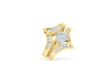 Diamond Engagement Ring Set 1.49 ct tw 14K Yellow Gold DENG030