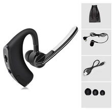 Load image into Gallery viewer, Earphone - Mini Wireless Bluetooth Stereo Ear Hook Earphone With Mic