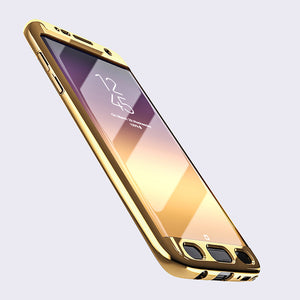 Phone Case - Luxury Ultra Thin 360 Full Protection Cover For Samsung
