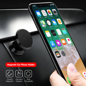 Universal Magnet Sticker Stand Mount Car Holder For iPhone & Samsung