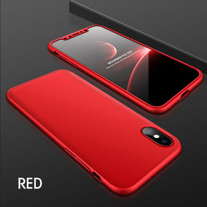 Phone Case - New Luxury 360 Degree Full Body Protection Cover Case For iPhone X 8 7 6 6s Plus