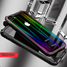 Load image into Gallery viewer, Phone Case - Luxury Bling Shockproof Metal Aluminum Megnetic Case Cover For iPhone X 8 7 Plus