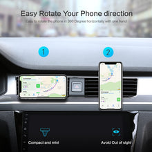 Load image into Gallery viewer, Universal Magnet Sticker Stand Mount Car Holder For iPhone & Samsung