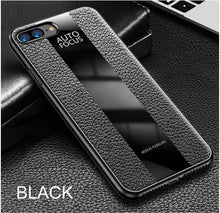 Load image into Gallery viewer, Phone Case - Luxury Shockproof PU Leather Glass Cover Case For iPhone X XR XS Max 8 7 6 6s Plus