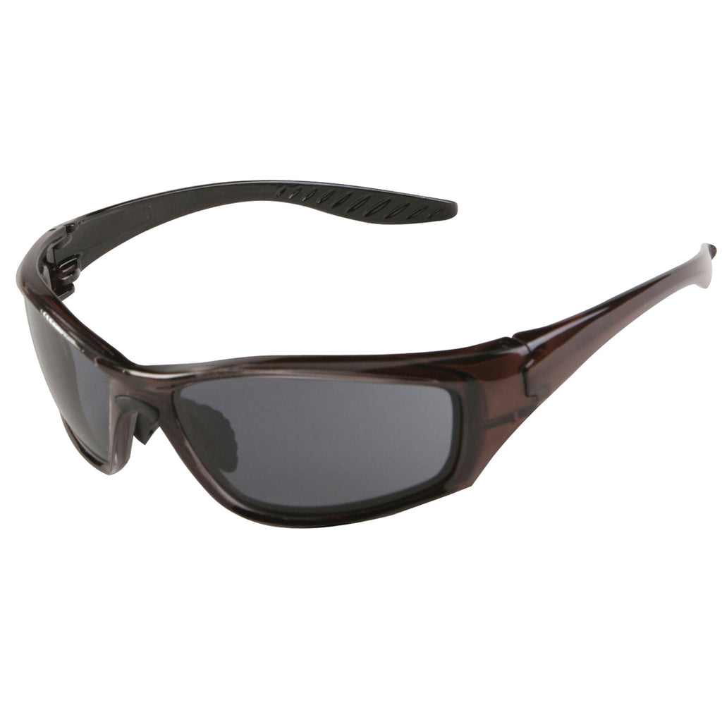 ERB Brown Frame 8200 Polarized Brown Lens Safety Glasses #17913