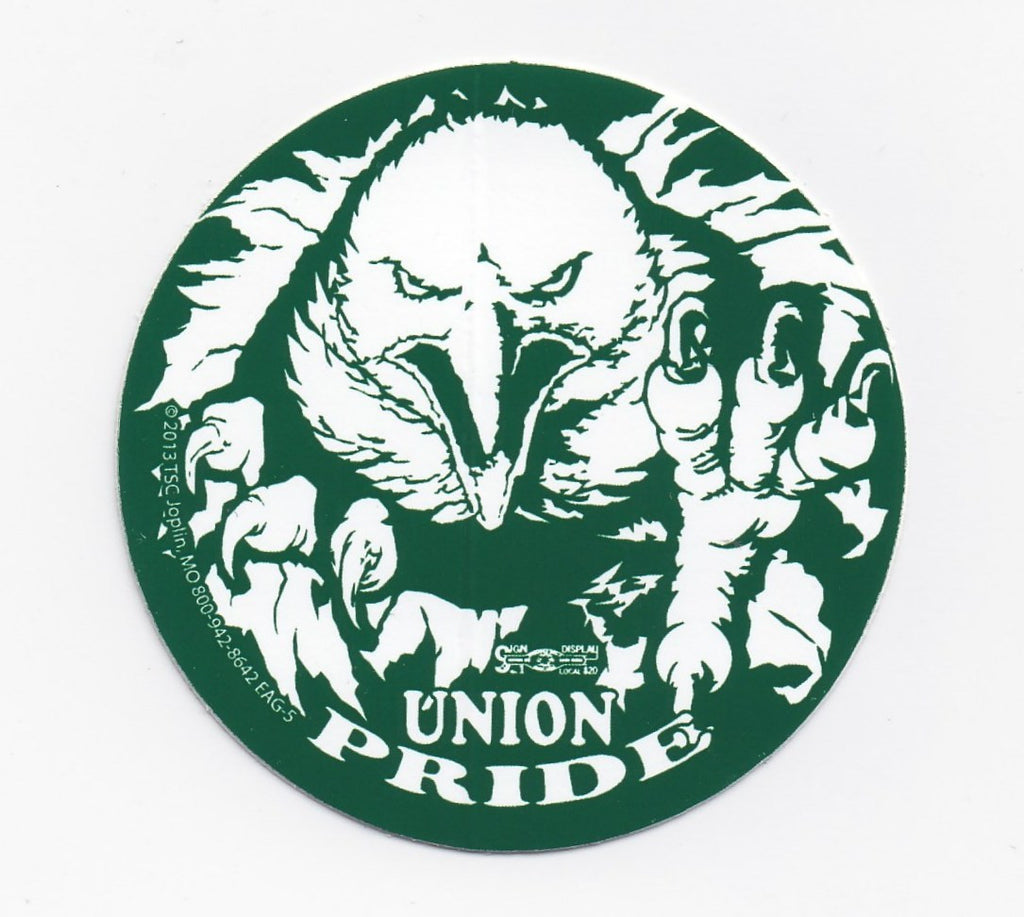 Green Union Pride Eagle
