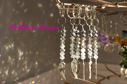 Angel Wing Crystal Key attachments