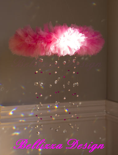 Princess Pink Ballerina Crystal Tutu Mobile