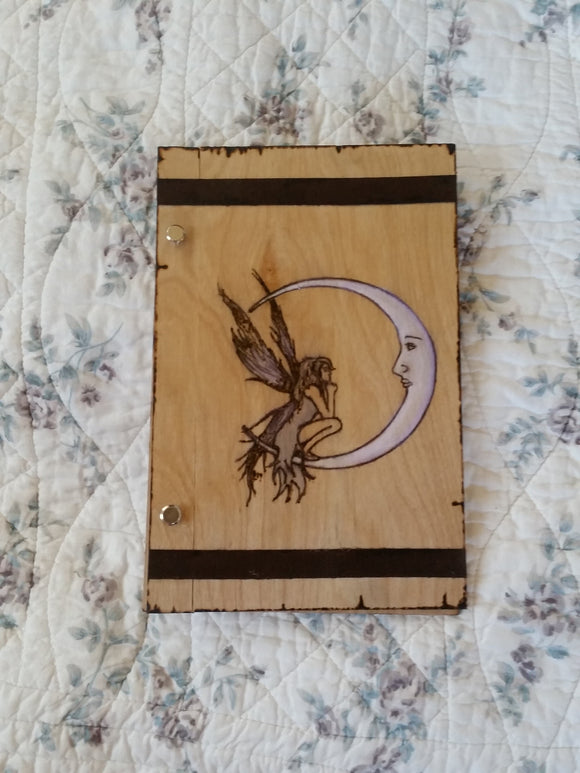 Moon Faerie 6 x 9 Book of Shadows