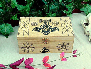 Asatru Dedication Keepsake Box