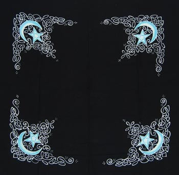 Celtic Moon altar cloth