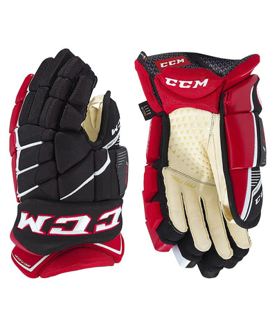 CCM JETSPEED FT1 SR HOCKEY GLOVES