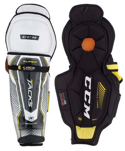 CCM SUPER TACKS SR HOCKEY SHIN GUARDS