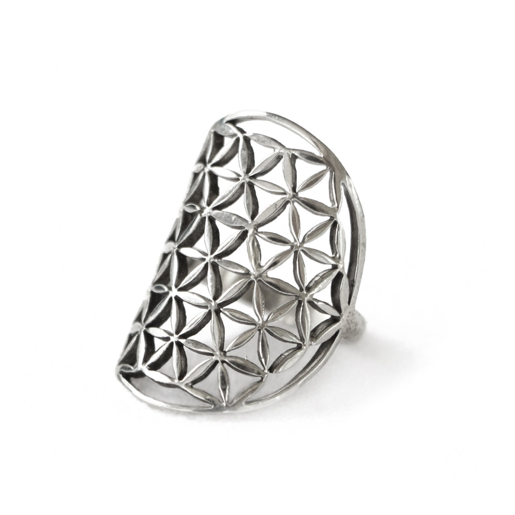 FLOWER OF LIFE -silver
