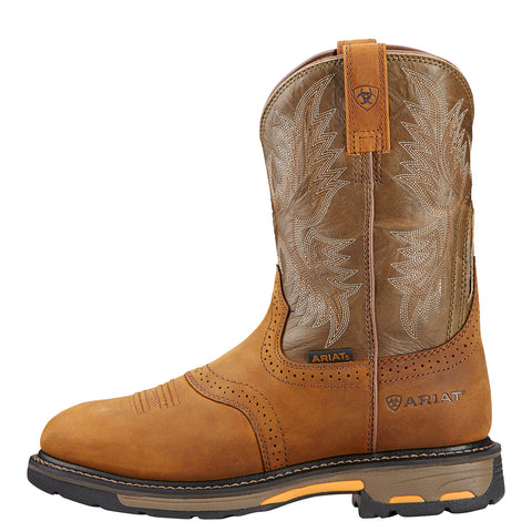 Men's Ariat 10001188 Workhog Pull-on Aged Bark