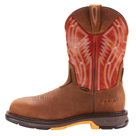 Men's Ariat WorkHog XT Dare Carbon Toe Rye Brown