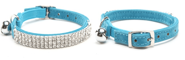 "Diamond Cat Collar ""Be Famous"" - Available in 4 Colors"