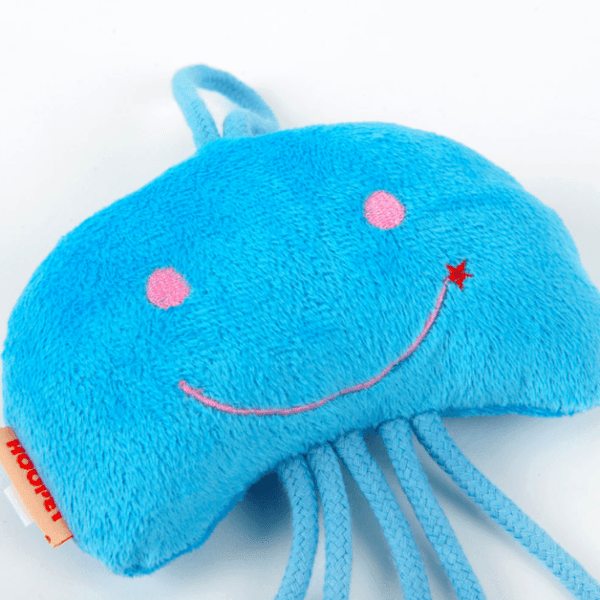 Jellyfish Cat toy With Organic Catnip - Available in 3 Colors
