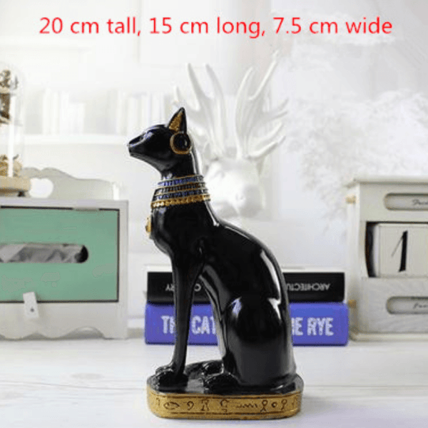 Family Egyptian Cat God Statue - Small