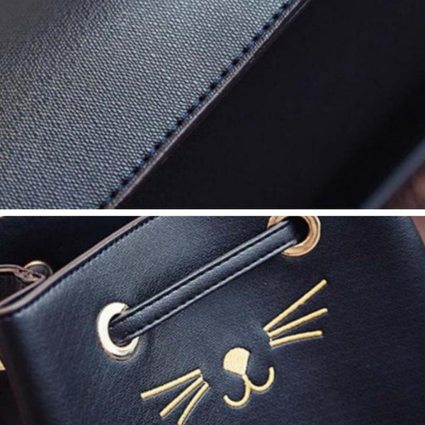 Classy Cat Handbag - Available in 4 Colors