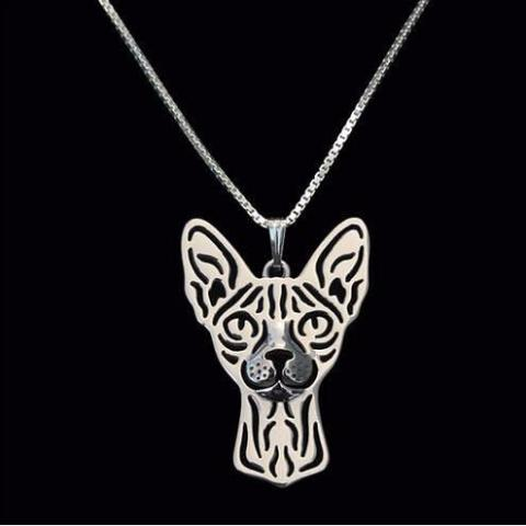 Sphynx Prune Necklace - Available in 2 Colors
