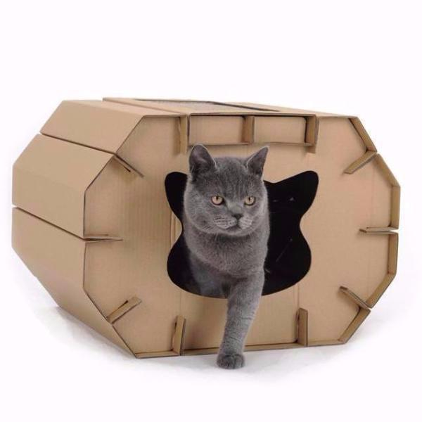 Cardboard Cat House - Eco-Friendly House