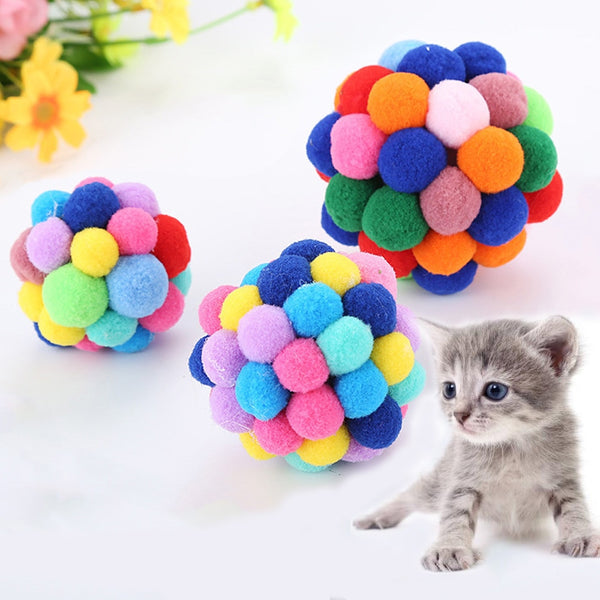 Colorful Handmade Bells Bouncy Ball