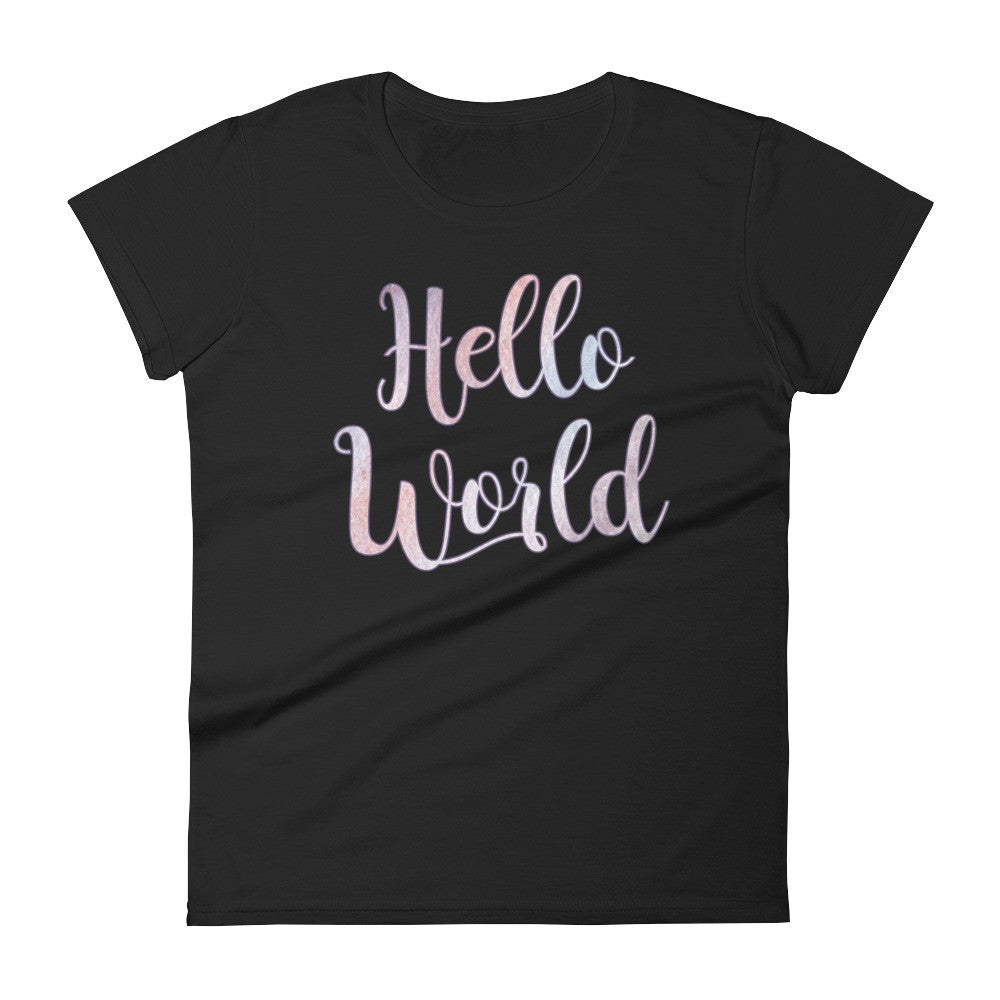 Hello World Tee