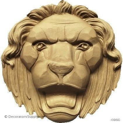 Lion's Head - 12H X 12W - 2 1/8Relief-Decorators Supply