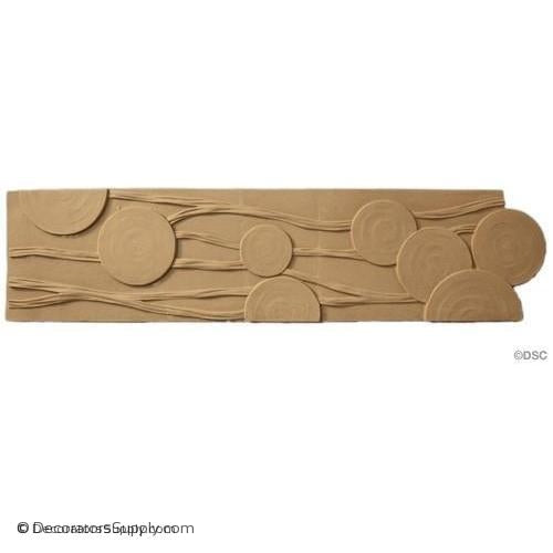 "Specialty-Modern 5H - 1/4Rel - Catalog Picture - 38"" Wide-moulding-for-furniture-woodwork-Decorators Supply"