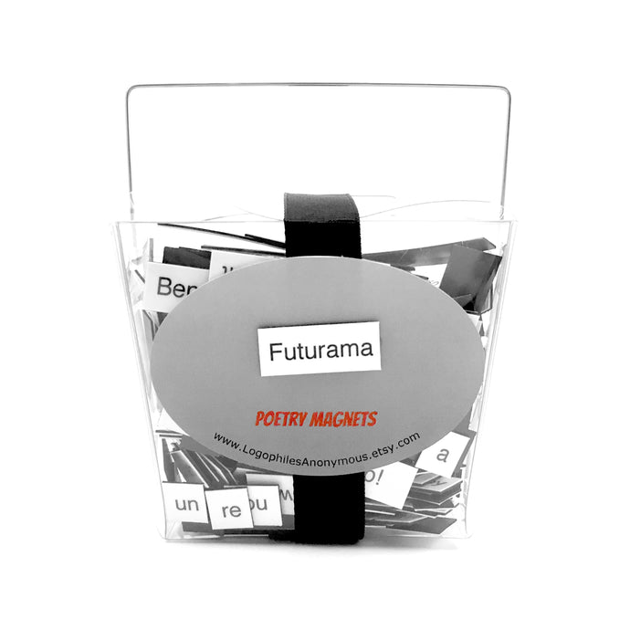 Futurama Magnetic Poetry