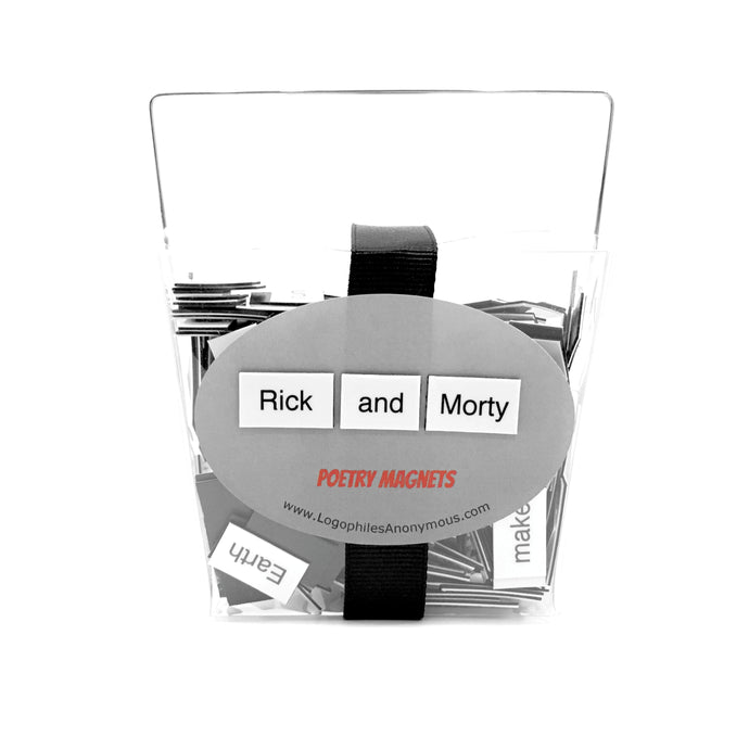 Rick and Morty Magnetic Poetry