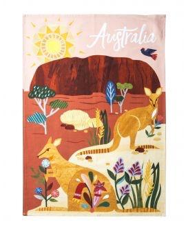 Australiana Tea Towel