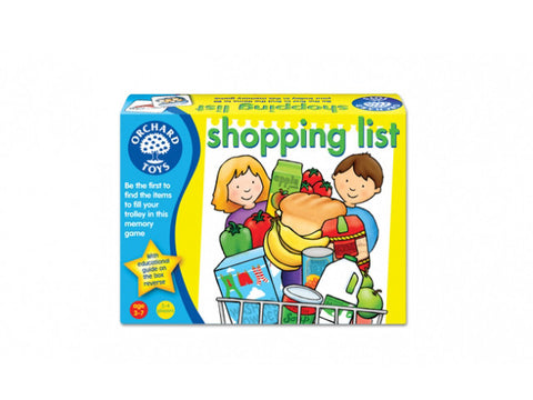 shopping list by orchard toys is an all time favourite children's game