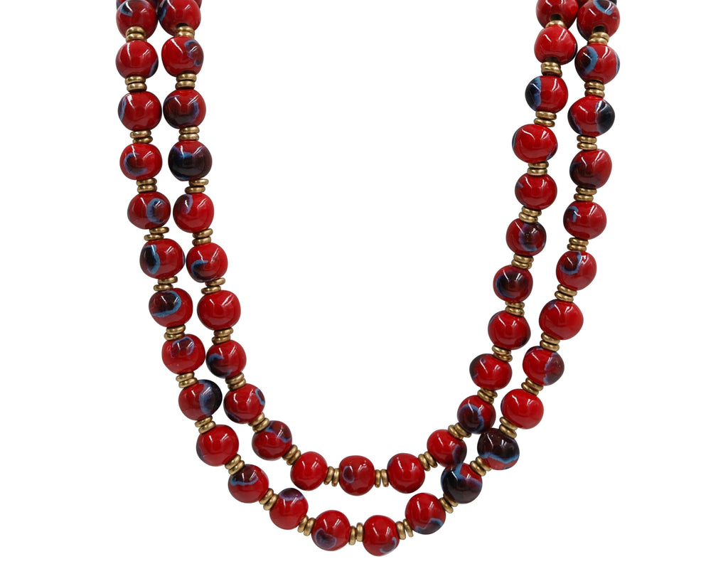 Double Strand ~ Crystal Red