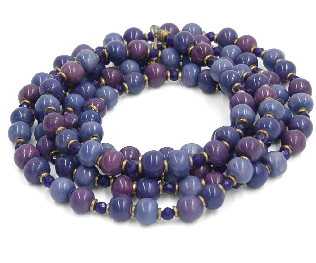 Mala in Shades of Purple